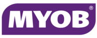 myob logo png purple