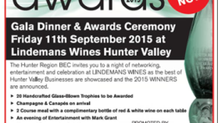Hunter Region BEC Awards 2015