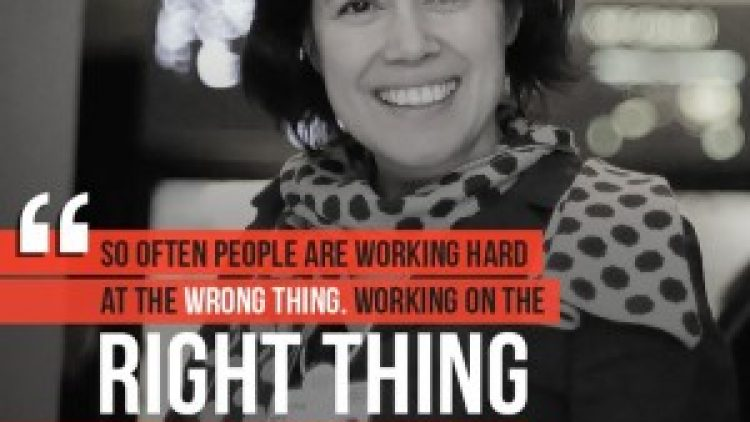 Caterina Fake Quotes – Do not work hard on the wrong thing